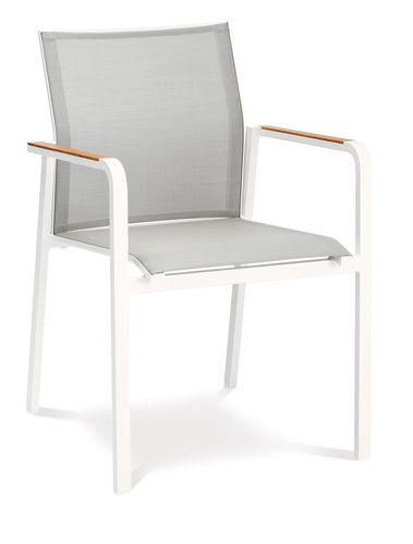 Paros stacking armchair